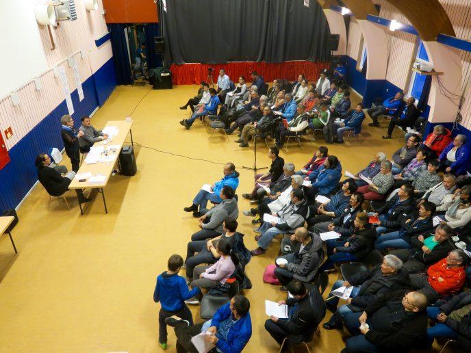 Velbesøgt borgermøde i Paamiut