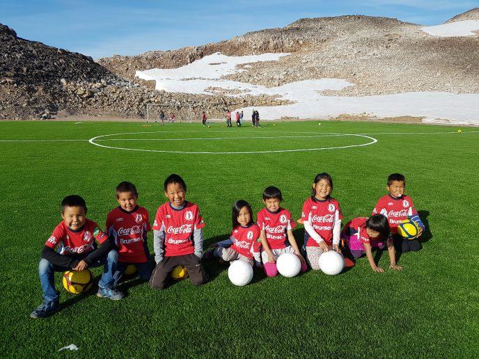 GBU-Fodboldskole i Ittoqqortoormiit