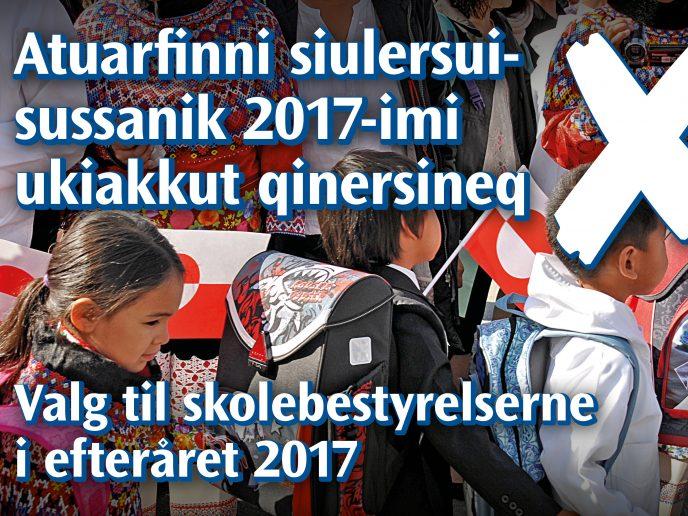 Valg til skolebestyrelserne i efteråret 2017