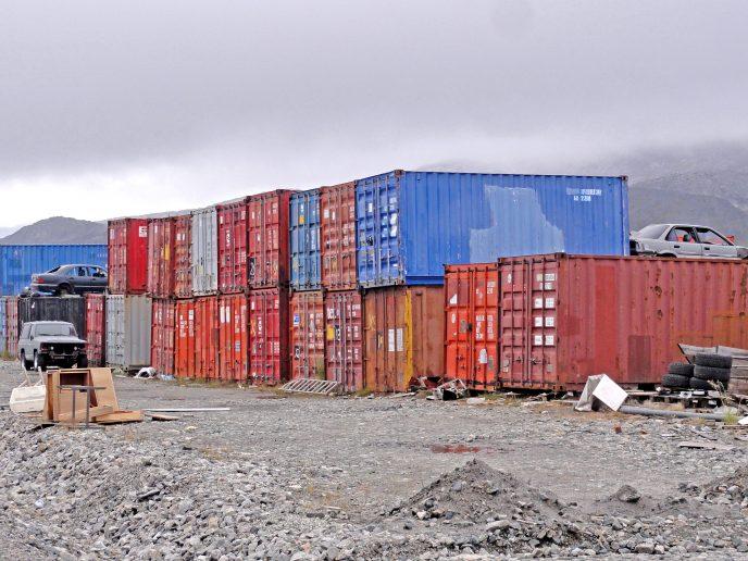 Containerbyen ved Admiralitetsøerne (ved Nuuk Imeq) skal rømmes