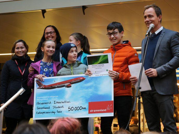 Team Afri(qua) vinder innovationskonkurrencen Projekt Edison