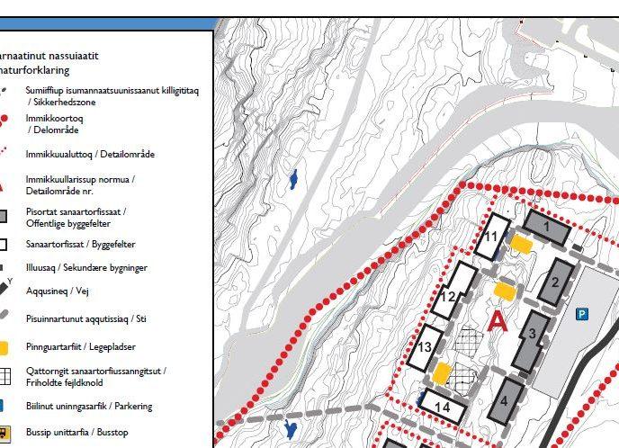 Annoncering af ledige byggefelter i Qinngorput [1]