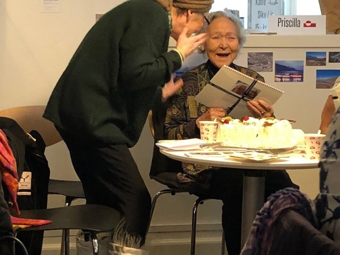 Fejring af Priscilla Josefsen