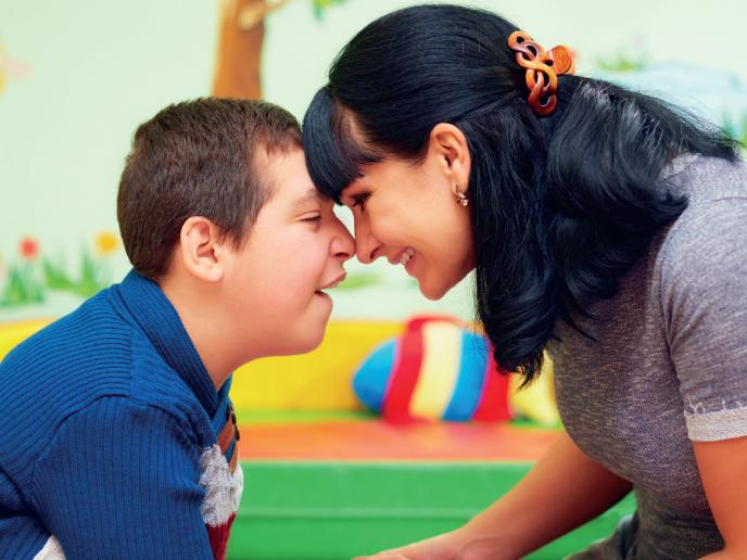 Guide til forældre til børn med handicap
