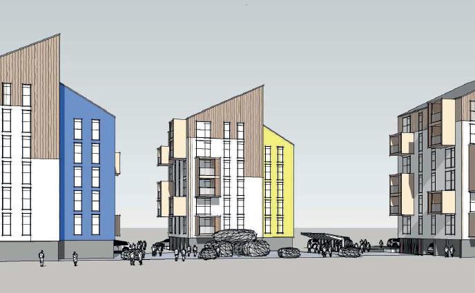 Forslag til Kommuneplantillæg 1A20-1, De tre søskende, Nuuk
