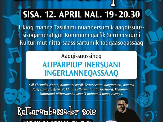 Kulturikkut Nittarsaassisoq 2018