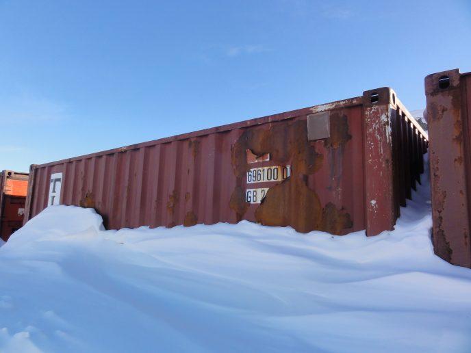 Containerit utaqqiisaasumik inissiisarfimmi uninngatitat: Illit container-iutit amigaatigaajuk?
