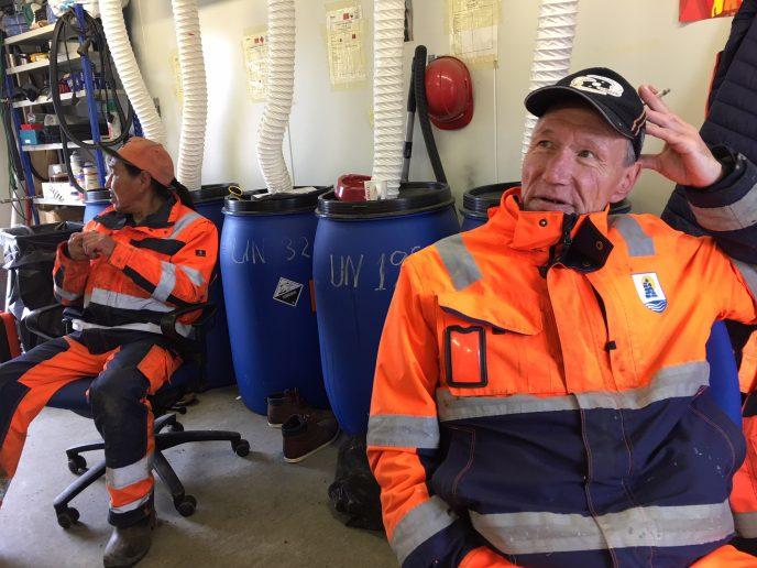 Affaldet sendes til Nuuk og Danmark