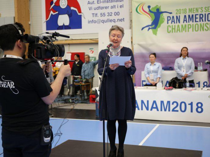 Asii Chemnitz Narups åbningstale ved Pan Am 2018