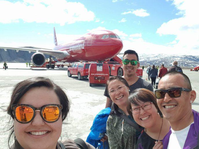 4 unge fra Tasiilaq deltager ved kulturfestival i Norge