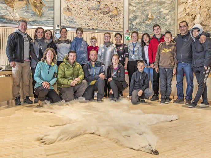 Besøg fra Baskerlandet på rådhuset i Nuuk