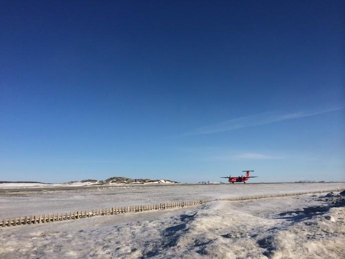 Offentlig bekendtgørelse af kommuneplantillæg 3E5-2 Nuuk Airport
