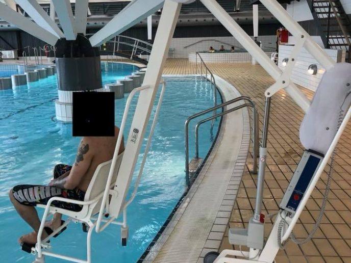 Svømmehallen har fået ny pool-lift