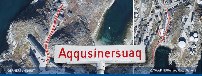 Du kan være med til at bestemme navnet på veje og rundkørsler i Nuuk