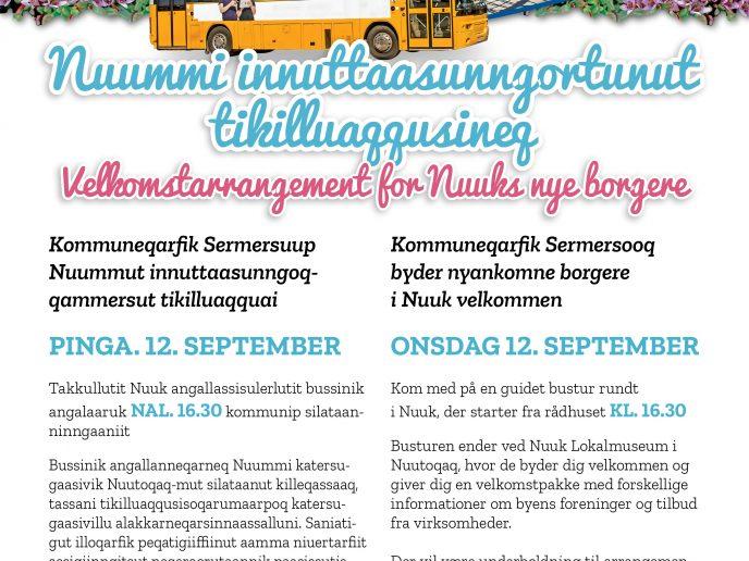 Velkomstarrangement for Nuuks nye borgere [1]