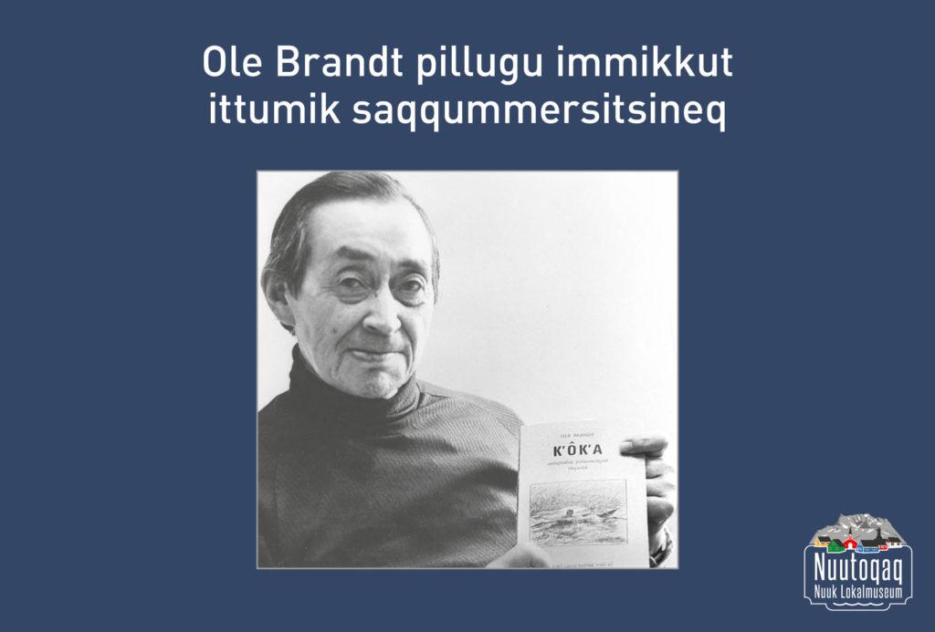 Særudstilling om Ole Brandt