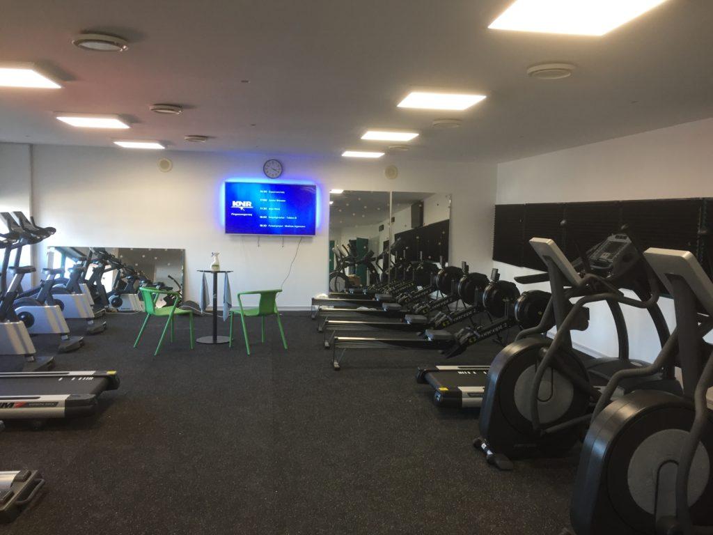 Tasiilaq: Nyt fitnesscenter i hallen