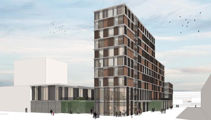 Udvidelse af Nuuk Center