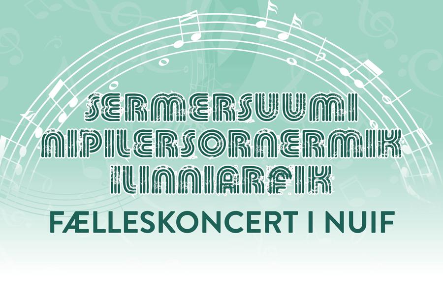 Fælleskoncert i NUiF