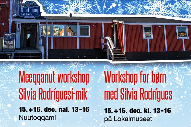 Silvia Rodrígues meeqqanut workshoppeqartitsissaaq