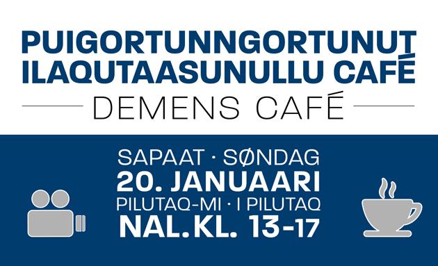 Puigortunngortunut ilaqutaasunullu café: Misilittakkatit pillugit oqaluttuariartorit imaluunniit paasissutissanik pissarsigit