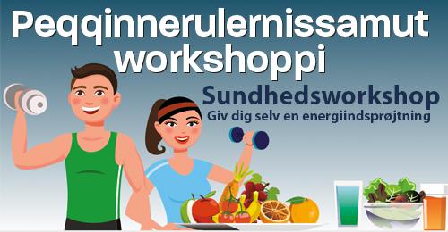 Sundhedsworkshop – Giv dig selv en energiindsprøjtning