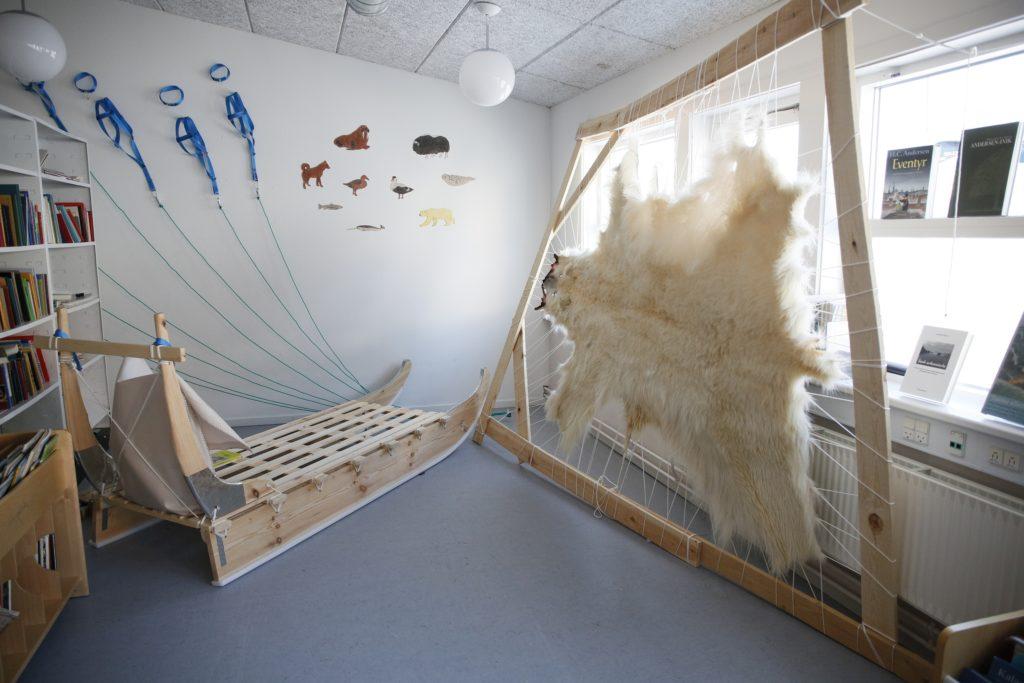 Nødværgeskudt isbjørn bruges i undervisningen