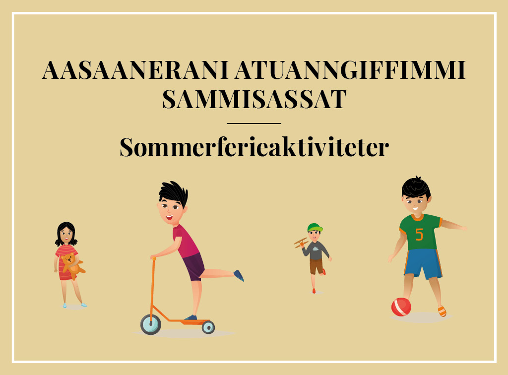 Sommerferieaktiviteter for skolebørn