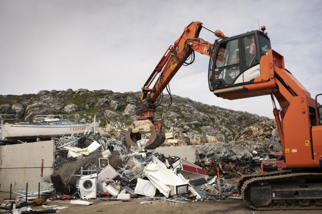 Frit lejde for aflevering af jern- og metalskrot samt miljøklargjorte skrotbiler