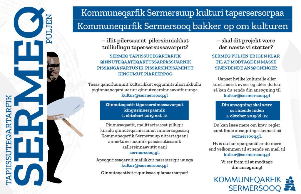 Sermeq Puljen: Kommuneqarfik Sermersooq bakker op om kulturen