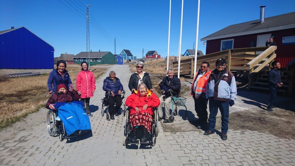 Ældre får deres eget værested i Qeqertarsuatsiaat