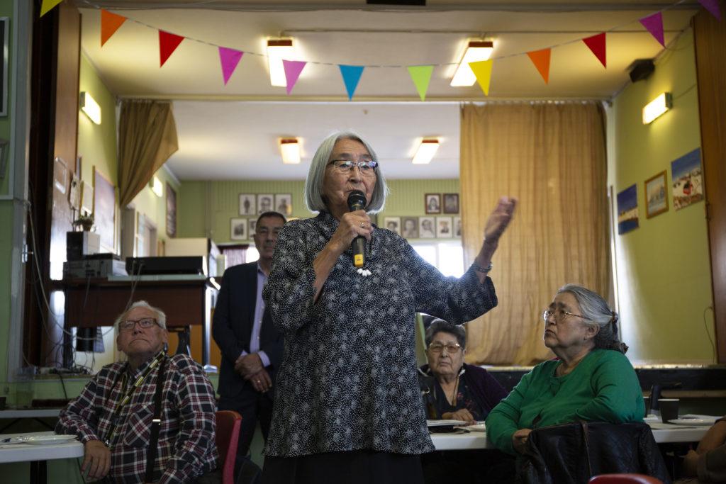 Ældrerådet inviterede til borgermøde