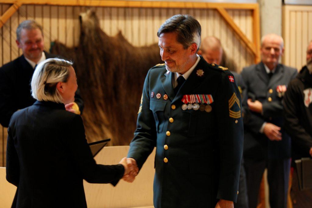 Charlotte takker udsendte soldater