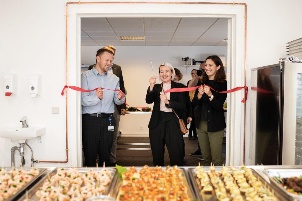 Foodlab er åbnet