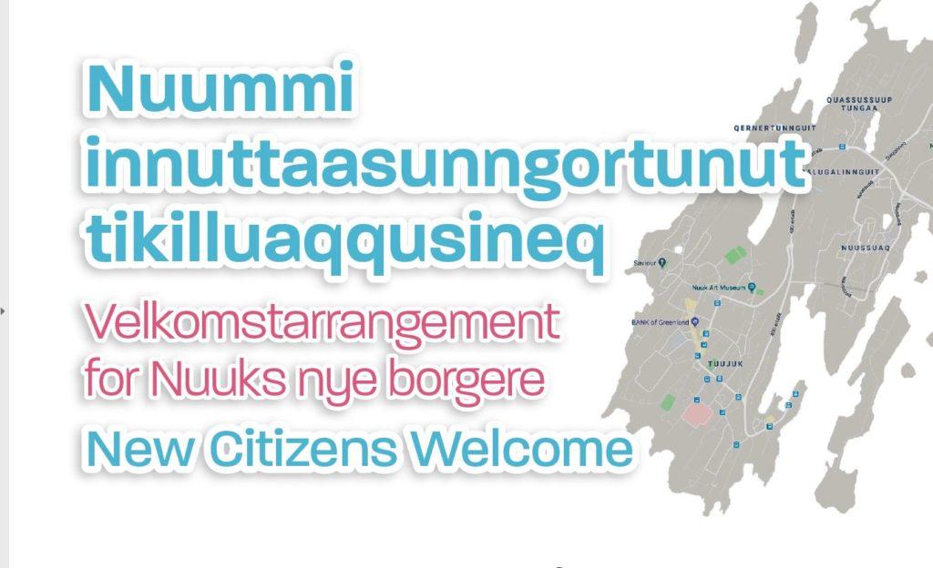 Velkomstarrangement for Nuuks nye borgere