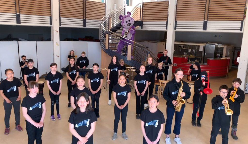 Sermersooq musikskole giver børnene ordet i corona-musikvideo