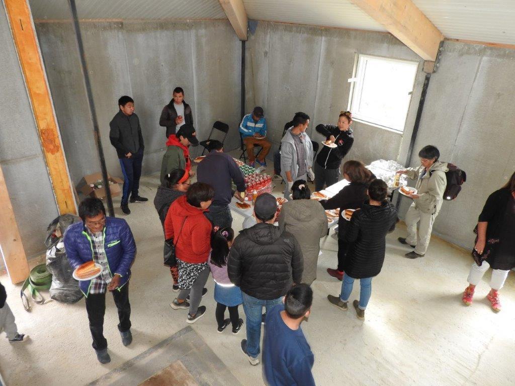 Rejsegilde for Ungdomskulturhuset Igdlo