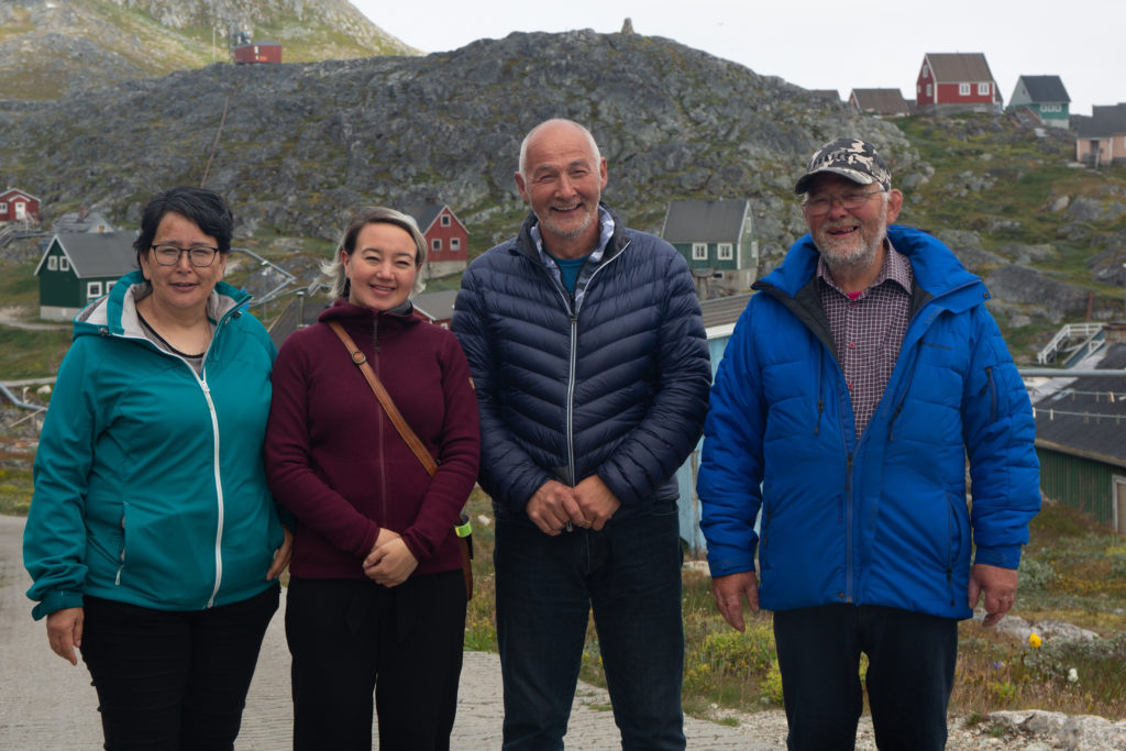 Arsuk: Fremtid i fjeldbestigning og moskusprodukter