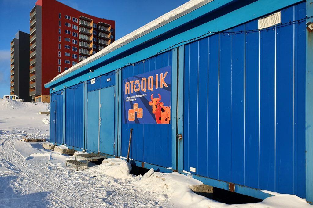 Indvielse af genbrugsbutikken ATOQQIK