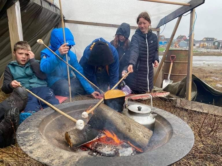 Nuuk Spejdergruppe glade for støtte: Nu kan vi komme på lejr