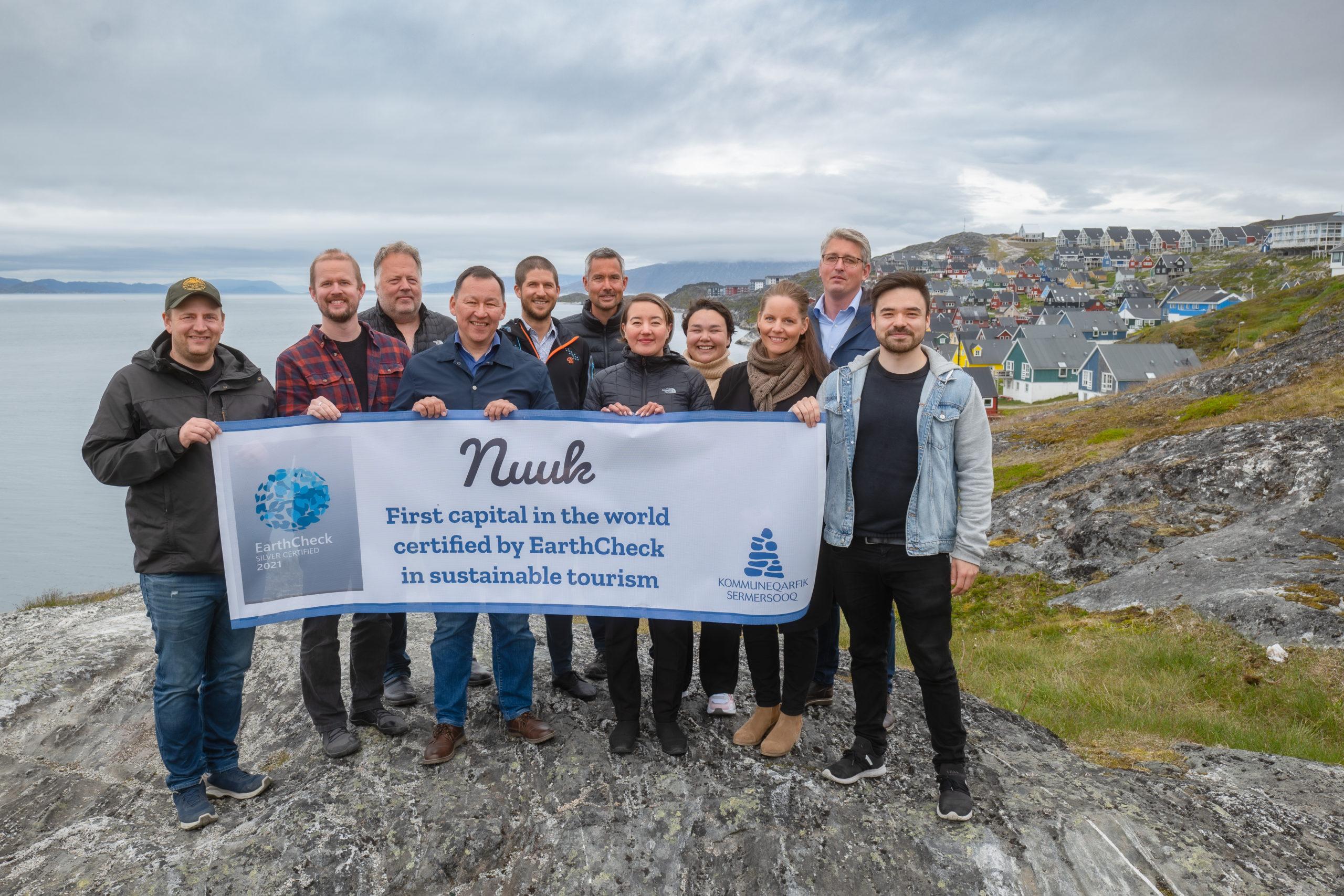 Nuuk bliver den første bæredygtige hovedstad i verden