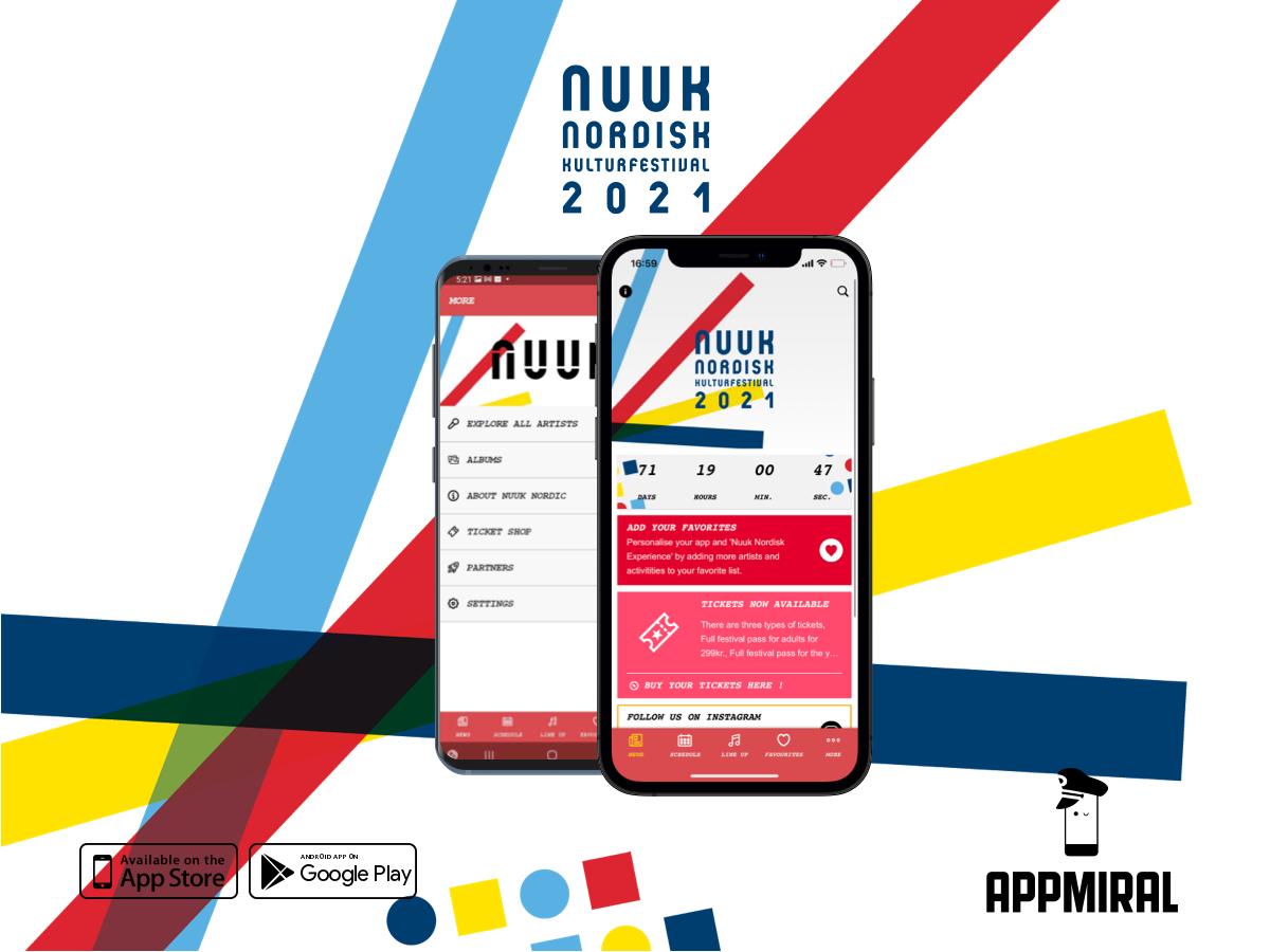 Hent Nuuk Nordisk-app og mød kunstnerne