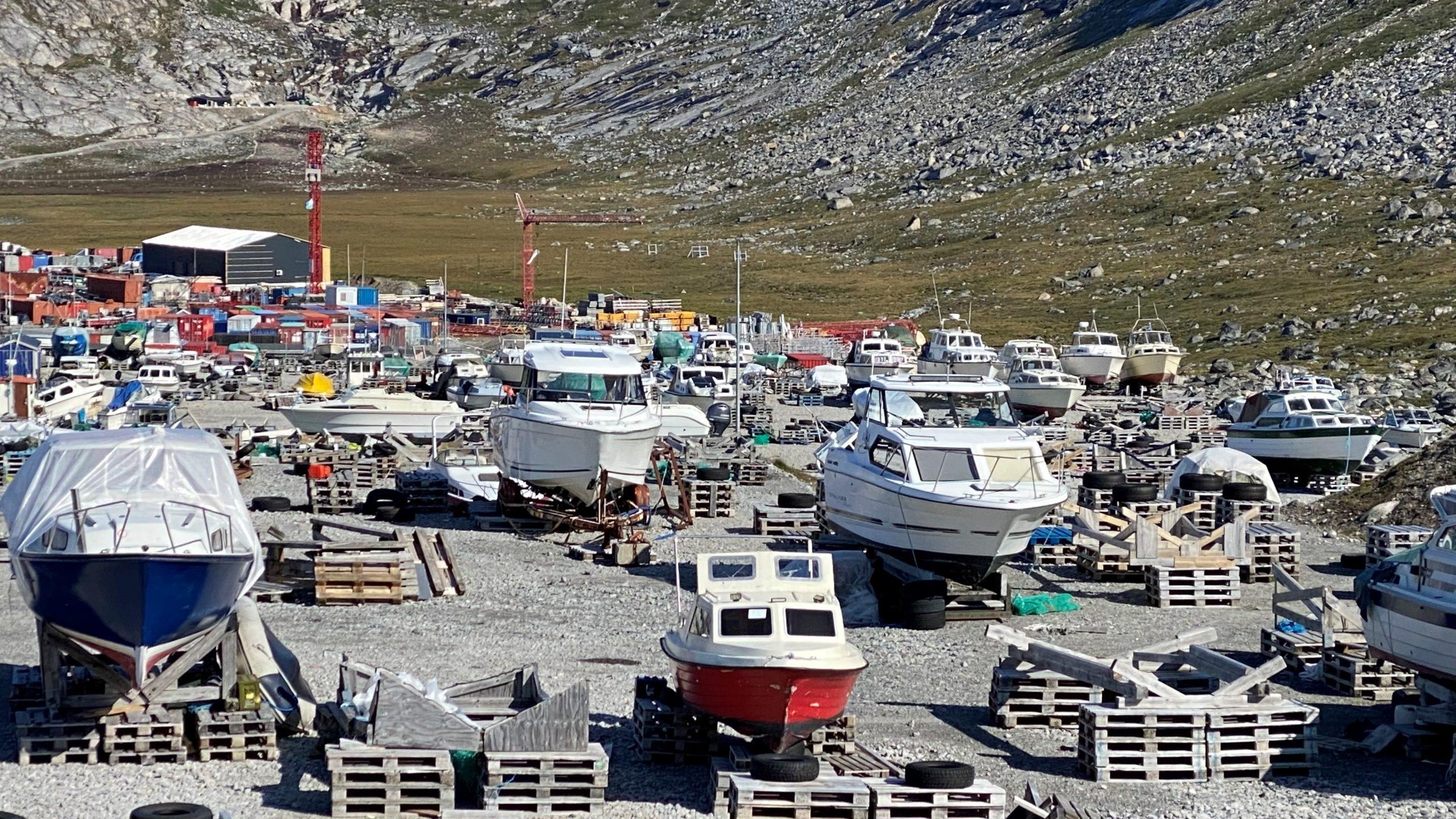 Bådepladsen ved Isuliffik ude på Qinngorput skal rømmes
