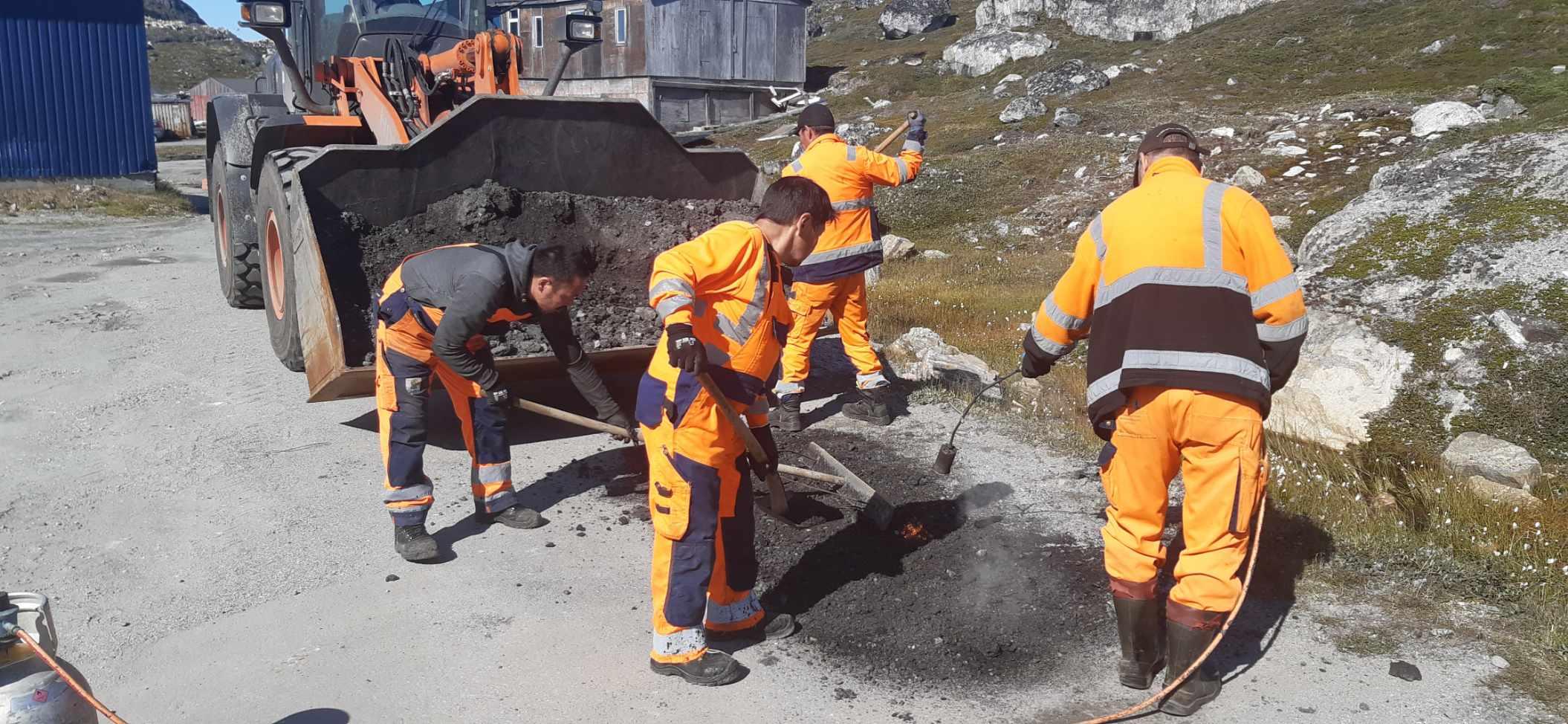 Fart på udviklingen af infrastrukturen i Paamiut