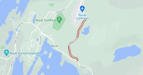 Forlængelse af lukning af Illerngit 2001-vejen