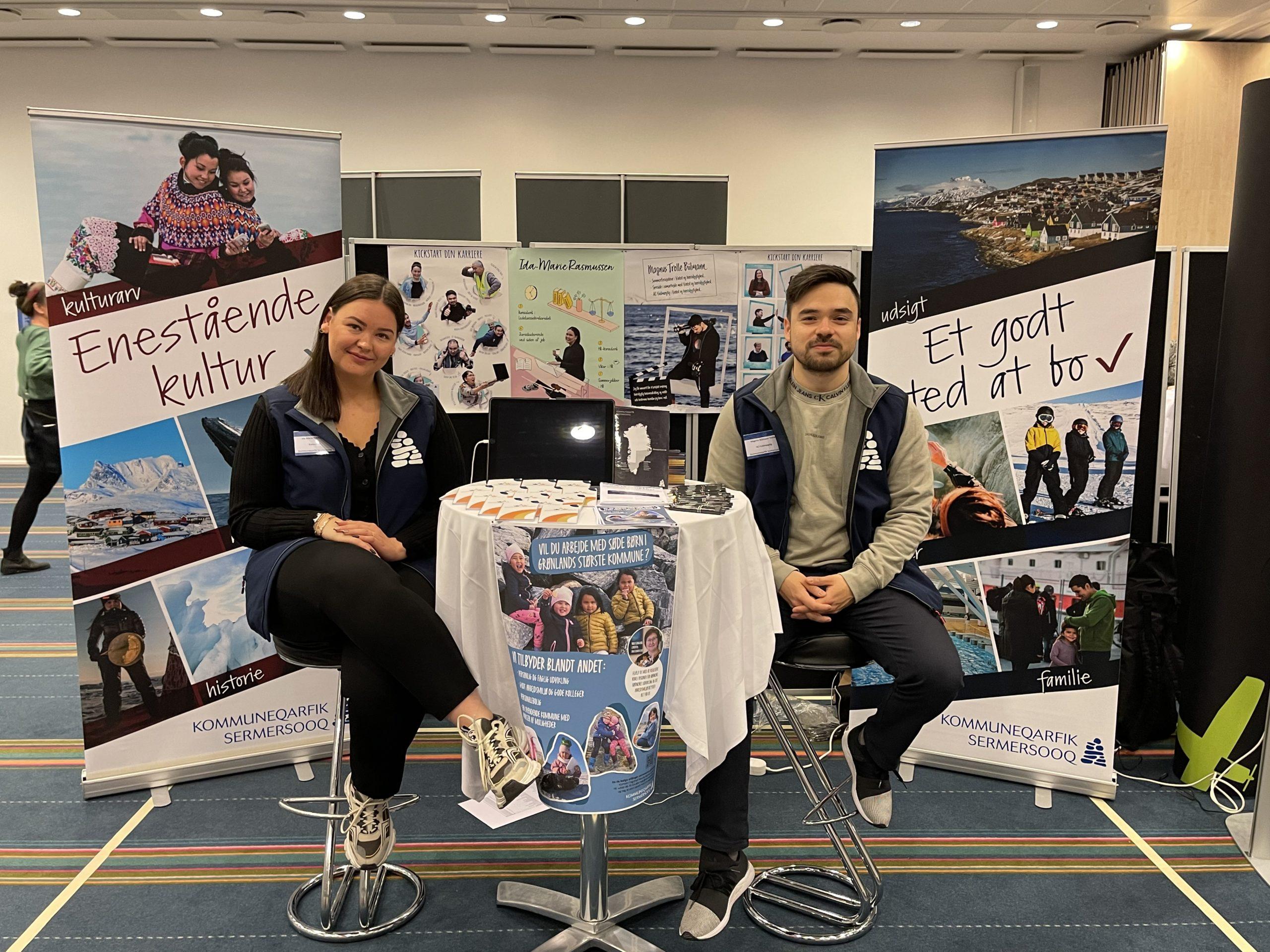 Vellykket jobmesse i Danmark